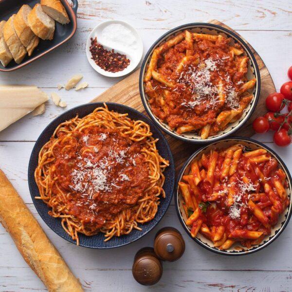 food, spaghetti, meal